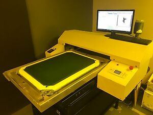 Cts With Exposure Unit Screen Printing Equipment