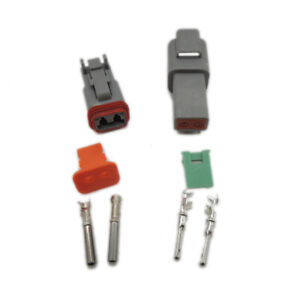 Deutsch Dt 2 3 4 6 8 12 Pin Connector Electrical Kit 14ga 16 22awg Contact