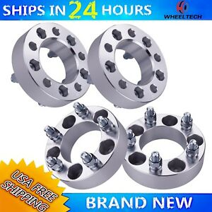 4pc 1 5 Wheel Spacers Adapters 5x4 5 For Ford Mustang Ranger Explorer Taurus