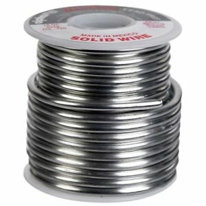 Alpha 13945 Lead free Solid Wire Solder 16 Oz