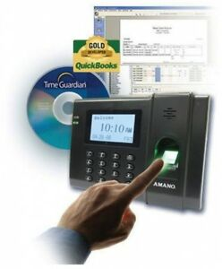 Biometric Fingerprint Punch In Time Clock System Employee Attendance Recorder