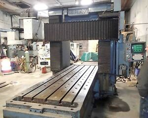 Gray Fadal Cnc Bridge Mill