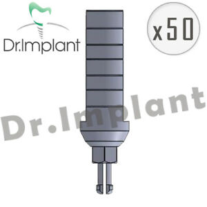50 Clip Transfer 13 0mm Dental Implant Hex Comp With Alpha Bio Biohorizons