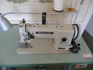Mercury M280 L Heavy Duty Walking Foot Industrial Sewing Machine Complete
