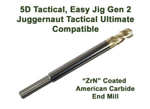 Compatible 5d Tactical Gen 2 Juggernaut Ultimate 5 16 Premium Zrn End Mill
