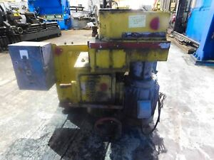 Pontiac Portable Boring Mill Milling Machine Drill 6 Spindle Diam 7244p