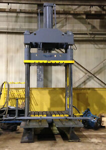 Hannifin Dyna quip 4 post Hydraulic Die Tryout Spotting Press 6840p