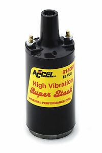 Accel 8140hv Ignition Coil Superstock High Vibration Canister Style