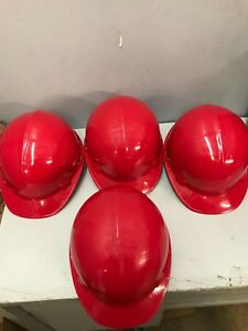 Construction Hard Hat Head Protection Safety Helmet Adjustable Strap set Of 4