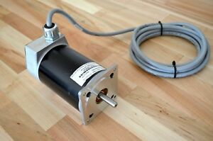 Parker Compumotor Rs33b dfs10 Dual Shaft Nema34 Stepper Stepping Motor Cnc Diy