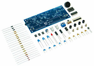 Diy Geiger Counter Kit Nuclear Radiation Detector Compatible With Arduino
