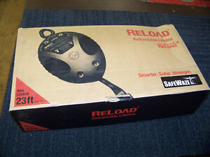 Safewaze Reload Retractable Lifeline 23 Foot Rew 23 New