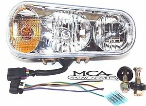 Buyers Universal Snow Plow Light Right Passenger Side Hardware Pigtail 1311100 2
