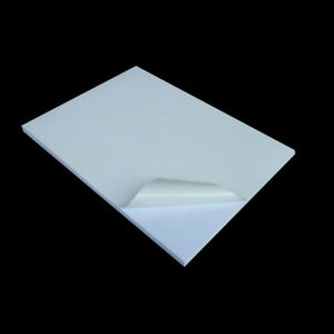 A4 Pvc White Self Adhesive Sticker Printing Paper Blank Stickers Laser Printer