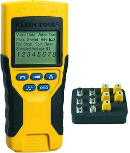 Klein Tools Vdv Scout Pro 2 Cable Coax Run Line Trace Wire Tester Kit Detector