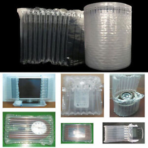 1m Inflatable Air Column Rolls Bubble Cushion Wrap Packaging Many Size