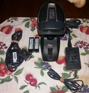 Posx Xi3000 bt Cordless Wireless Barcode Scanner With Accessories
