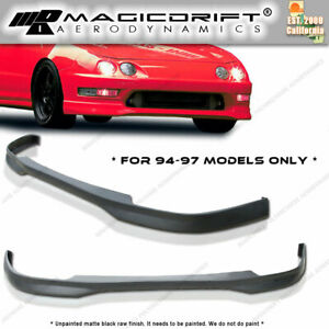 New Itr Type r Jdm Front Bumper Lip Urethane Plastic For 94 95 96 Acura Integra