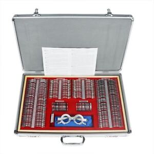 266x Optical Lens Optometry Rim Case Kit Set W Free Optometry Test Trial Frame