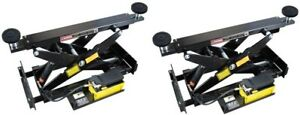 Pair Of Bendpak Rbj7000 7000 Lb Rolling Bridge Jacks