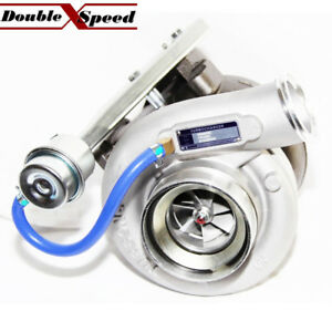 Hx40w 3538232 Turbo For Dodge Ram 4 Exhaust Downpipe Flange T3 Twinscroll 6ctaa