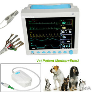 Capnograph Etco2 veterinary Icu Vital Signs Patient Monitor Contec Usa Ce Fda