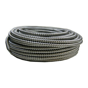 Southwire Aluminum Mc Cable 100 ft 14 2 Stranded Green Insulated Copper Wire