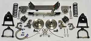 1964 1970 Ford Mustang Front Mustang Ii Ifs Power Rack And Pinion