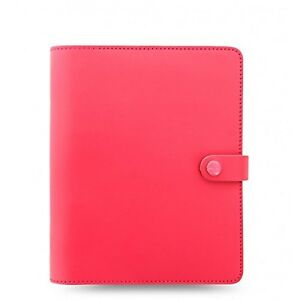 Filofax The Original A5 Size Leather Organizer Agenda Ring Binder Calendar Wi