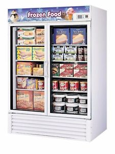 Turbo Air 2 Glass Door Commercial Freezer Nsf Tgf 49f