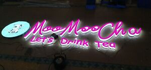 Illuminated Advertising Metal Frontlit Led Sign Channel Letter Banner Customized