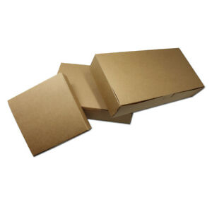 Brown Kraft Paper Boxes Handmade Crafts Gift Packaging Wedding Party Favor Box