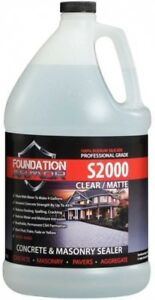 Foundation Armor 1 Gal Concentrated Water Based Sodium Silicate Concrete Sealer
