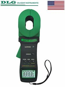 Dlg Di 120a Clamp On Ground Earth Resistance And Leakage Current Tester With Usb