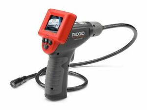 Ridgid 40043 Micro Ca 25 Digital Inspection Camera With 2 4 Lcd Color Screen