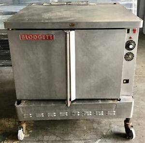 Blodgett Sho g Commercial Full size Gas Convection Oven On Castors Solid Do