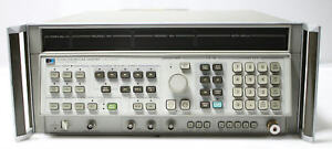Hp Agilent 8340a Synthesized Sweep Signal Generator 10mhz To 26 5ghz