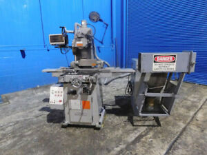 6 x 23 Nicco Automatic 3 Axis Metal Surface Grinder W Rotary Chuck Dro