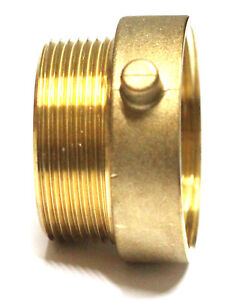 Nni 2 1 2 Nst nh Female X 2 1 2 Npt Male Fire Hose Hydrant Brass Adapter