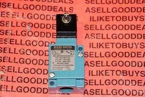 Honeywell Lza1 Micro Switch Heavy Duty Limit Switch New