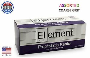 Element Prophy Paste Cups Assorted Coarse 200 box Dental Flouride 2 Boxes