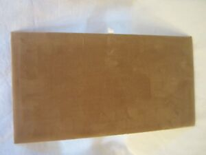 Standard Jewelry Display Pad Board Brown Velvet