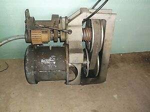 Clausing 13 Model 1300 Metal Lathe Motor With Variable Speed Drive