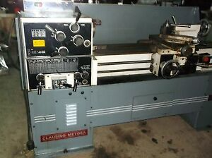 Clausing Metosa Engine Lathe 1340 Nice Little Lathe Video Link