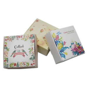 Colorful Paper Packing Boxes Craft Jewelry Party Gifts Candy Wedding Favor Box