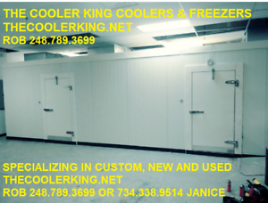 16 w X 36 d X 8 h Walk in Freezer We Finance Available