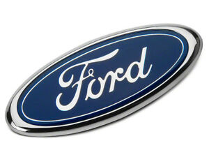 Blue Ford 2004 2014 F150 Front Grille Tailgate Emblem Oval Decal Badge Nameplate