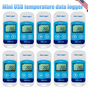 1 20x Us Usb Temperature Data Logger Datalogger Internal Sensor 32000 Point Rc 5
