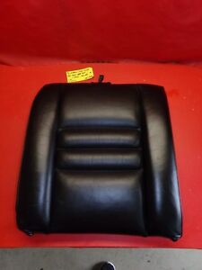 94 98 Mustang Gt Cobra Svt Black Leather Rear Back Seat Upper Cushion Right 118