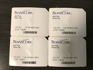 Transcore Ego Plus Mini Sticker Rfid Tag 100 Pk